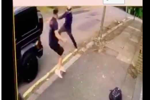 (Video) Kolasinac fights off knife-wielding attackers, protects Ozil during carjacking & has our respect forever
