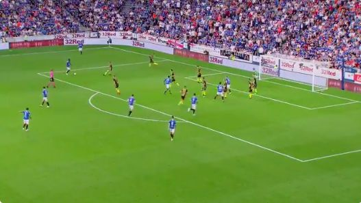 (Video) Sheyi Ojo scores again for Rangers; Gerrard proving fantastic again for an LFC loanee