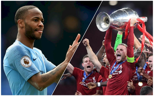 Raheem Sterling makes interesting Champions League claim as he admits he was 'happy' for the Reds