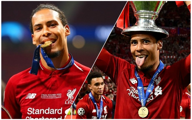 Virgil van Dijk speaks out as he moves ahead of Lionel Messi in Ballon d'Or race