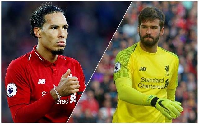 Van Dijk names his ultimate 5-a-side team – including two other Reds men and one shock choice