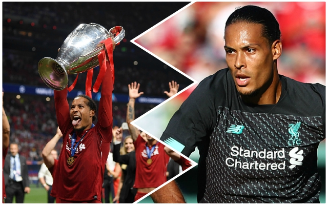 Van Dijk outlines Reds' target for next season – and names the month that will prove if it's possible