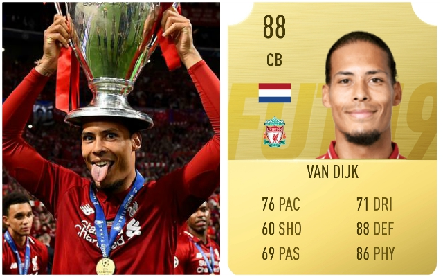 Reds man explains what his FIFA 20 rating should be – as he's unveiled as cover star