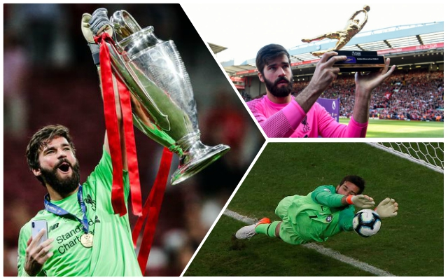 Alisson's inspiring message after landing 'keeper award