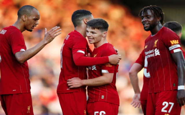 Goals run in the family: Gerrard praises young Red as he nets on senior debut