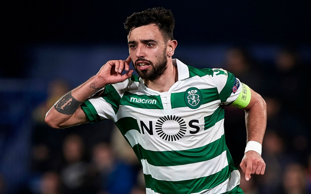 "Reds in with chance as Fernandes' agent flies to England for ""concrete proposals"""