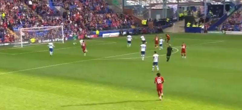(Video) Clyne gives Liverpool early lead v. Tranmere with powerful strike