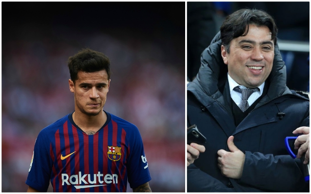 "Coutinho's agent makes huge claim: if he moves back to PL ""it would have to be Liverpool"""