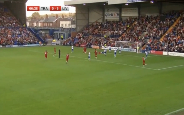 (Video) – Duncan caps off pre-season rout to make it six for Reds vs Tranmere
