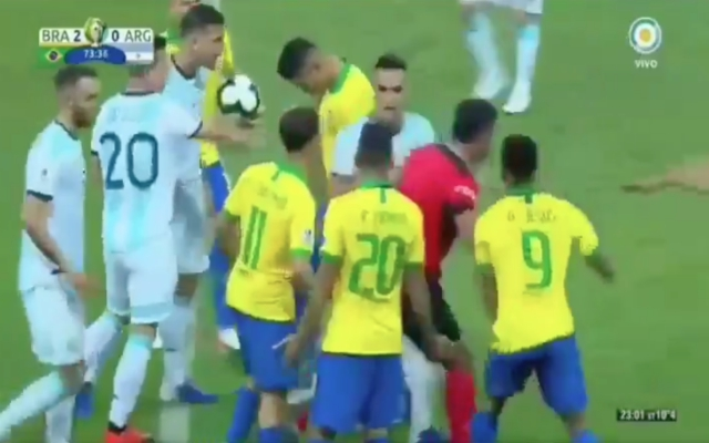 (Video) – Firmino's nutmeg sparked excessive conflict in Brazil's 2-0 win