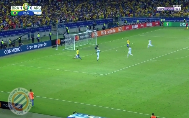 (Video) – Firmino finishes stunning counter to send Brazil into final