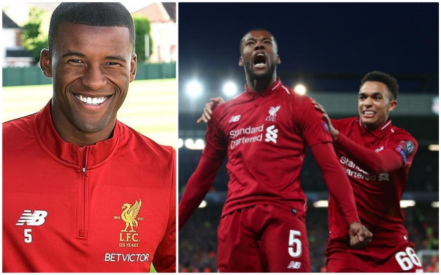 Ravenous Wijnaldum desperate to satiate the taste of success this season