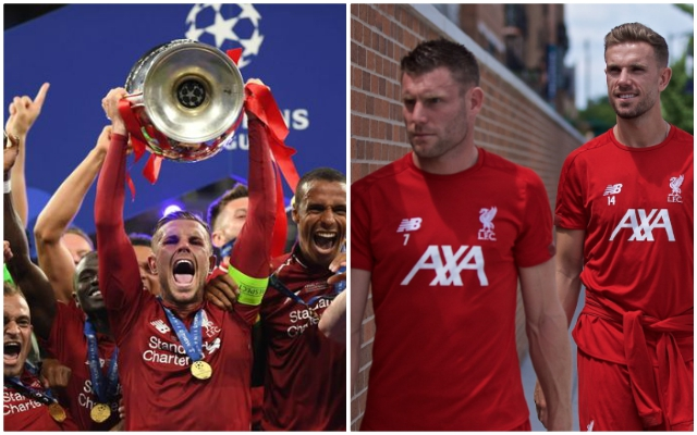 CL trophy lift reminder reveals Milner's hilariously aggressive promise to Hendo