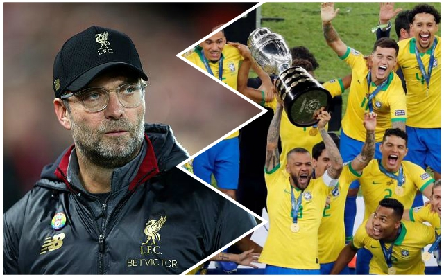 Jurgen Klopp instructed to sign Brazilian who was Copa America MVP
