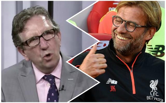 Pundit backs Klopp over £100 million transfer decision – because of one man