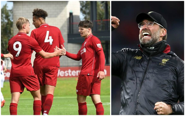 Jurgen Klopp issues strong hint that exciting Academy wonderkids will head on US tour