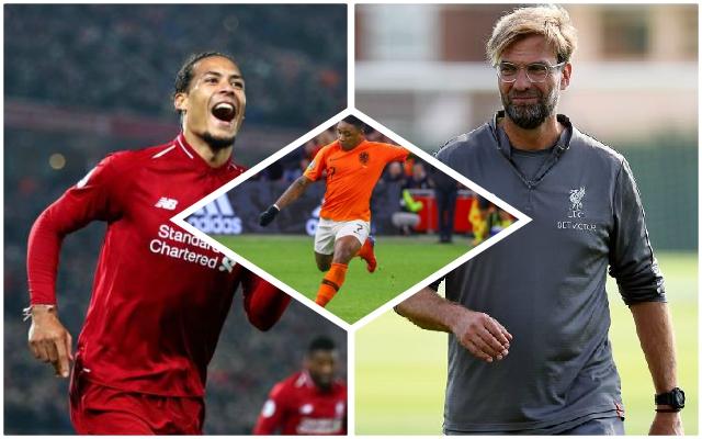 Reported Reds 'target' lauds Virgil van Dijk