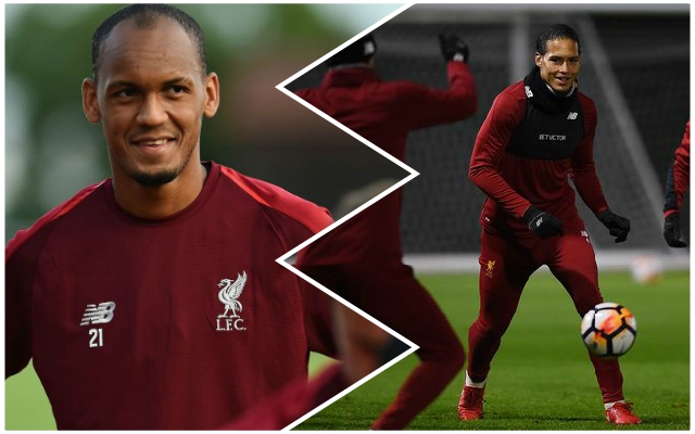 Fabinho makes a big claim about Ballon d'Or hopeful Virgil van Dijk