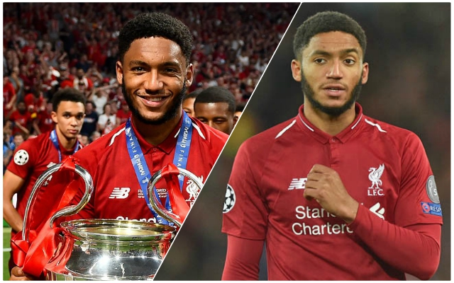Determined Joe Gomez outlines the plan for next season