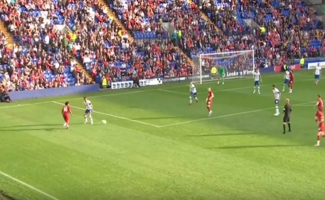 (Video) Watch Larouci tear up left flank vs Tranmere in eye-catching highlights