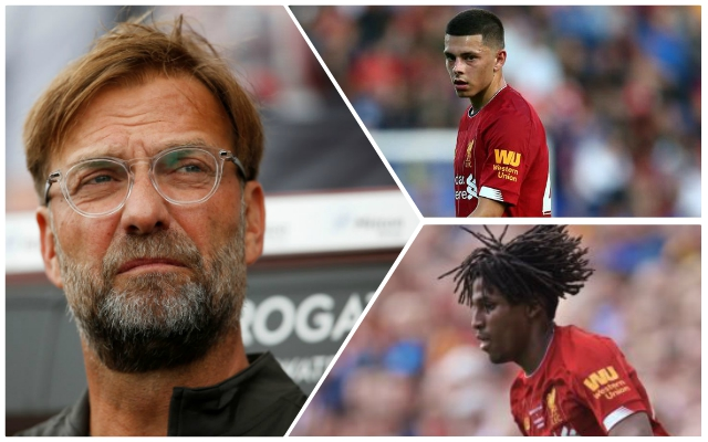 Klopp issues new left-back transfer update in refusal to rule anything out