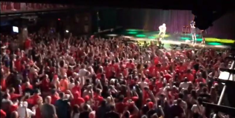 (Video) LFC fans in Boston take the roof off the place with rendition of van Dijk song