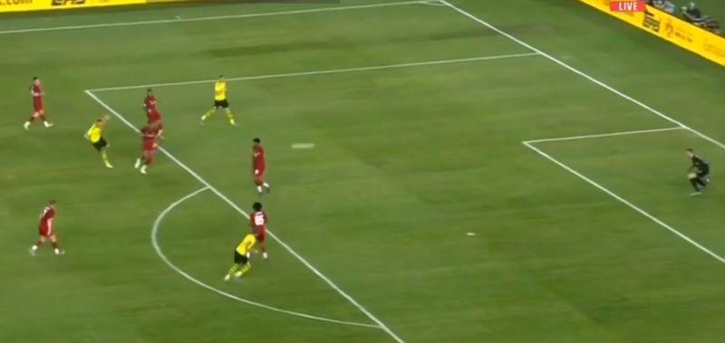 (Video) Mignolet pulls off great save to keep score level v. Dortmund