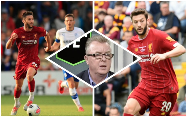 "(Opinion) Reversing Nicol's cynical suggestion Lallana is ""the odd man out"""