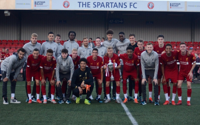 Reds' depleted under-23s lift pre-season trophy after victory in Edinburgh