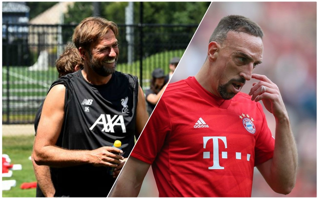 Klopp was interested in shock LFC move for Franck Ribéry, but on one condition