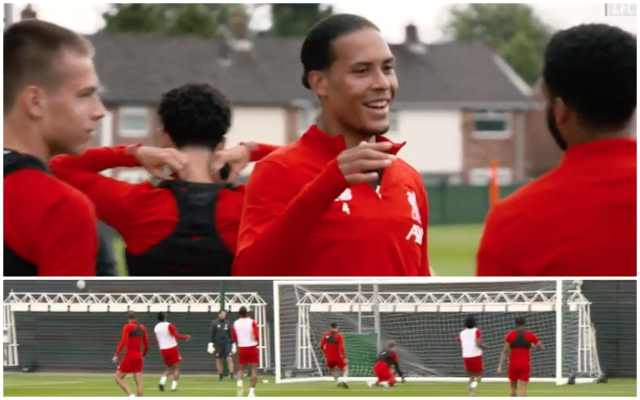 (Video) LFC release shooting drill footage while CL heroes reconvened at Melwood