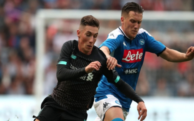 Liverpool fans react angrily to potential Harry Wilson loan move