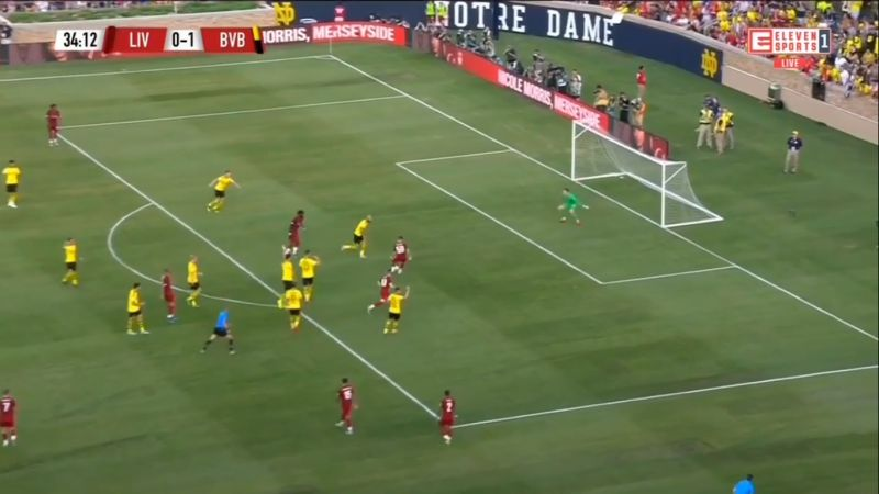 (Video) Wilson levels the score v. Dortmund after class Kent dummy