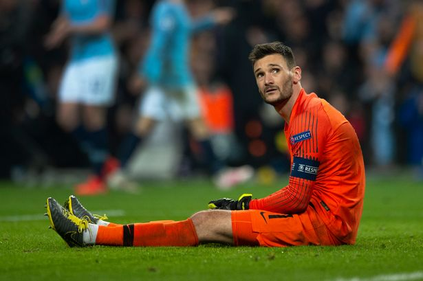 Hugo Lloris admits Spurs aren't on the same level as Liverpool and Man City