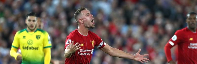 LFC captain Henderson not satisfied with Arsenal performance; blames himself for consolation goal