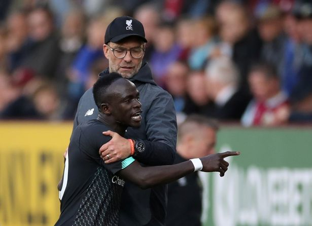 Jurgen Klopp tries to explain Sadio Mane's angry reaction after being substituted