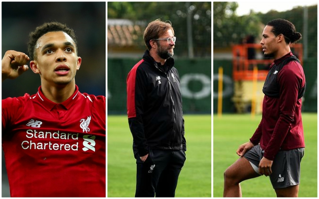 Trent Alexander-Arnold outlines the big advantage the Reds have ahead of tonight's Arsenal clash