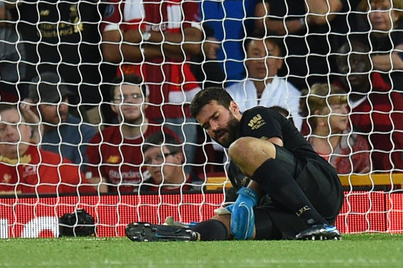 Jurgen Klopp issues injury update on Liverpool goalkeeper Alisson