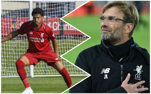 Incredible Rhian Brewster tale shows why Jurgen Klopp is set to rely on the striker this season