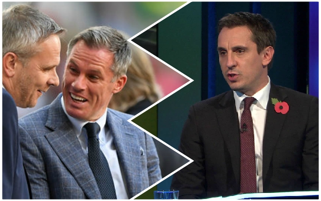 Gary Neville makes ridiculously bold Premier League title claim involving the Reds and Manchester United