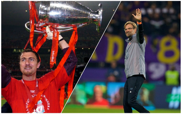 Jerzy Dudek claims there's only one option for the Reds' next boss when Jurgen Klopp moves on