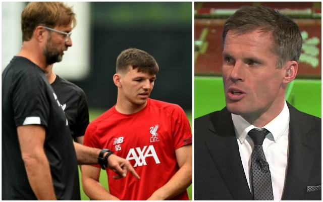 Carragher hits out at Bobby Duncan's agent as storm involving the striker unfolds