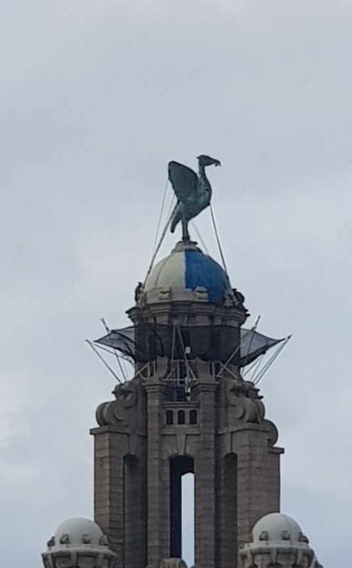 LFC fans confused as Liver Building appears to have turned blue – here's what really happened