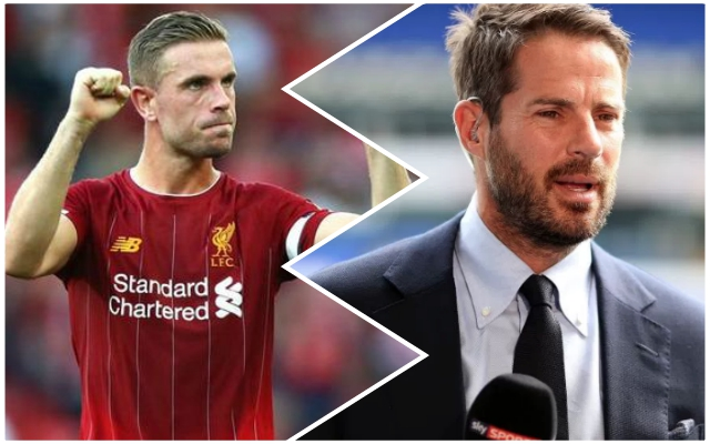 Jamie Redknapp hails 'brilliant' Reds man who's finally getting the plaudits he deserves