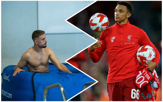 Trent Alexander-Arnold outlines the big difference he found when he stepped up to the Reds' first team