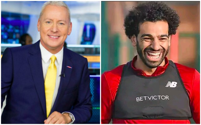 Jim White makes bonkers Twitter claim about Liverpool's front-three