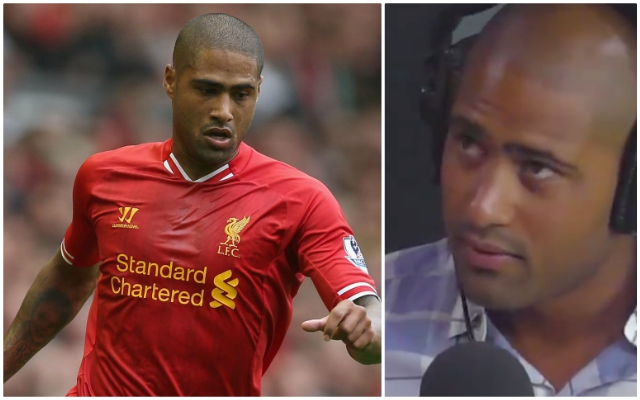 Former Reds man Glen Johnson goes in two-footed on his ex-teammate with brutal comments