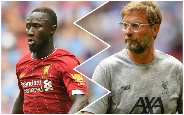 Naby Keita good news: Guinean back in training & could play v Shrewsbury