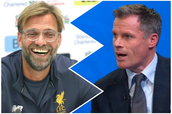 Jurgen Klopp hits back at Jamie Carragher over Sadio Mane comments