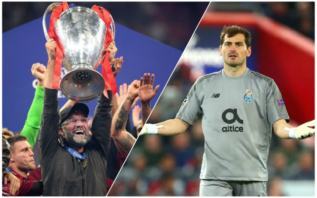 Iker Casillas tweets about Liverpool's brilliance during City game